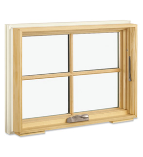 Custom wood casement awning windows for Marvin integrity casement windows