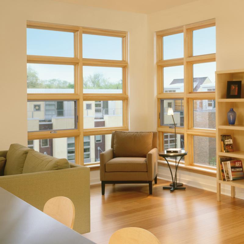 Custom wood casement awning windows for Integrity casement windows