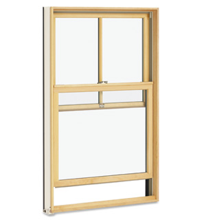 Custom Wood Double Hung Windows