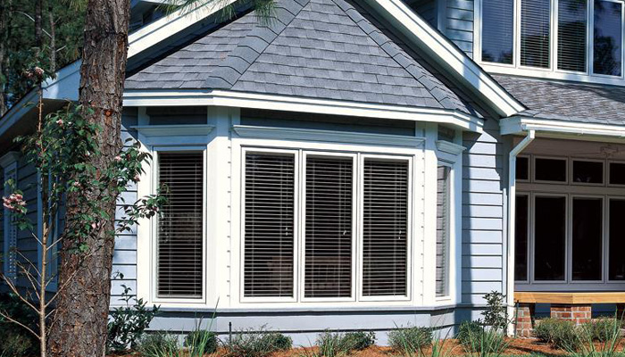 Custom Wood Bay & Bow Windows