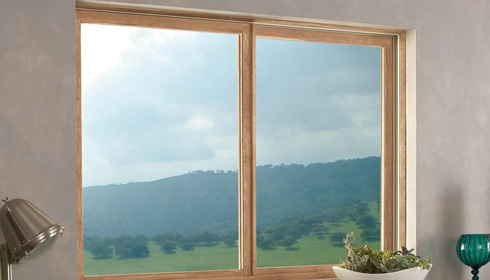 Custom Wood Glider Windows